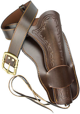 Leather Single Rig Western Style Holster