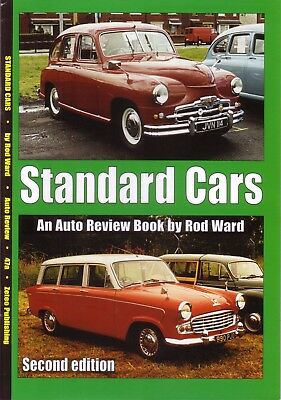 Book - Standard Cars History Vanguard Ten Ensign Pennant Atlas - Auto Review