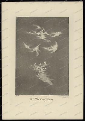 Druck-Stahlstich-Engraving-J.Ruskin-J.C.Armytage-Allen&Co-The Cloud-Flocks-75