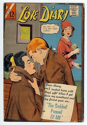 *Love Diary #34 September 1964 Comic Book