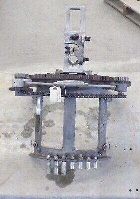 Mathey Dearman Pipe Bevel Machine 8-12 Machine W Hand Crank