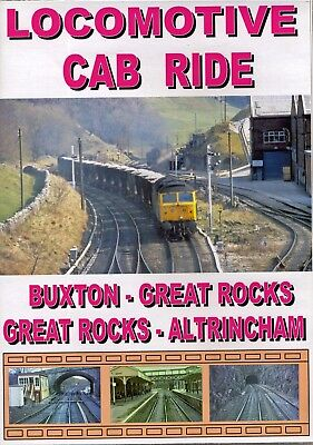 Railway Class 47 Cab Ride DVD: BUXTON - PEAK FOREST - GREAT ROCKS - ALTRINCHAM for sale  Shipping to Ireland