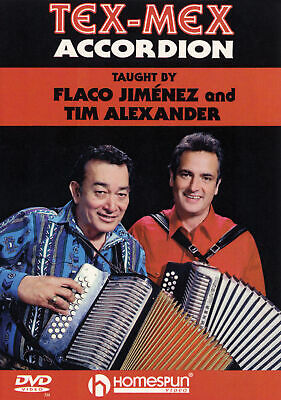 Tex-Mex Accordion Beginner Lessons Learn How to Play Homespun Video DVD