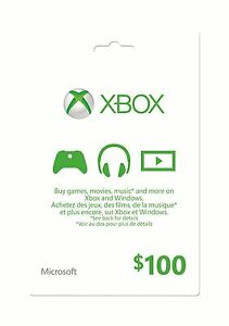 [eBay.ca] $100 Xbox Gift Card for $90 (10% off)