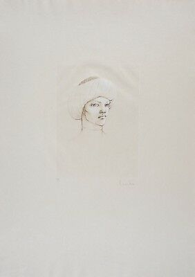 Leonor FINI S/N Etching Conte de la 672 ème Nuit 1981 XIII