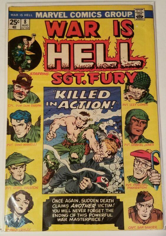 WAR IS HELL # 8 - MARVEL COMICS - AUGUST 1974