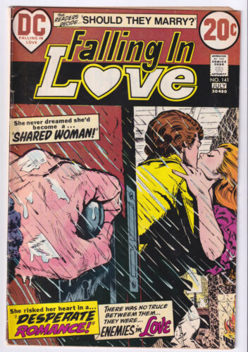 FALLING IN LOVE 141 (1973 DC) Caught in the Act; FINE 6.0