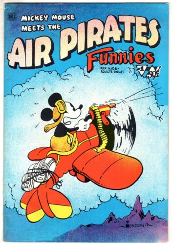 AIR PIRATES FUNNIES #1 1971 1st Printing SUED BY DISNEY Underground Comic Comix