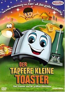 The Brave Little Toaster - UK Region 2 DVD Jon Lovitz, Timothy Stack, Jerry NEW