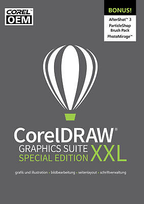 CorelDRAW Graphics Suite XXL Special Edition OEM (Edition 2019) + AS 3  / KEY