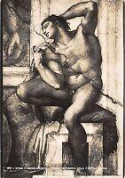 Br51621 Michelangelo Figura Decorativa Nella Cappella Roma Italy -  - ebay.co.uk