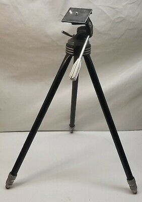 Vintage STAR D by Davidson Industrial Camera Tripod Aluminum 25-55-inches Atomic