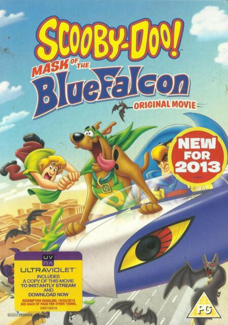 Scooby Doo: MASK OF THE BLUE FALCON (Animation Film) *New & SEALED* Region 2