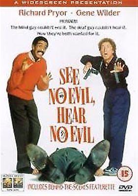 See No Evil, Hear No Evil Richard Pryor, Joan Severance, Kevin Spacey UK R2
