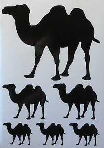 Kamel Aufkleber Camel Sticker Autoaufkleber KFZ Aufkleber Tier Aufkleber Afrika