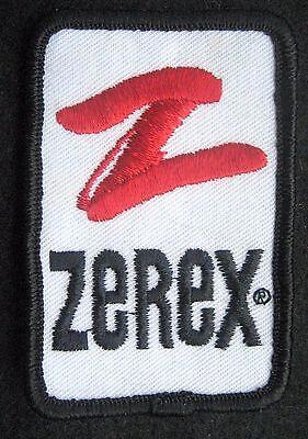 Zerex Bordado Coser Solo Parche Anticongelante Coche Carreras Valvoline 2 X 3CM