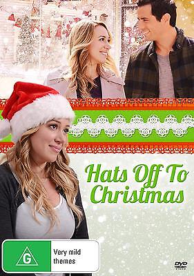 Hats Off To Christmas  2013  Region 1  Dvd  Haylie Duff Antonio Cupo