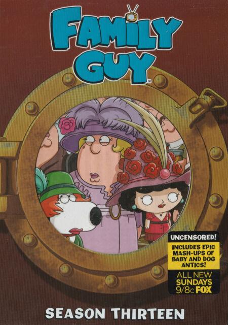 FAMILY GUY SEASON 13 Brand New but UNSEALED 3-DVD Set Region 1