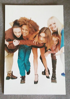 Spice Girls Official Snapshot Spice World Photo Mel C Geri Mel B Victoria Emma