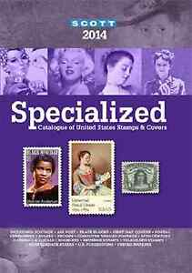 Scott-Stamp-Catalog-2014-US-Specialized-of-US-Stamps-and-Covers-UNUSED
