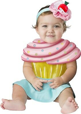 Infant Toddler Cupcake Cutie Costume  - Cupcake Toddler Costume