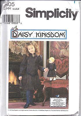 hmuster Mädchen Daisy Königreich Kleid + 17