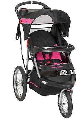 Baby Trend Expedition Jogging City Stroller Pink Black ...