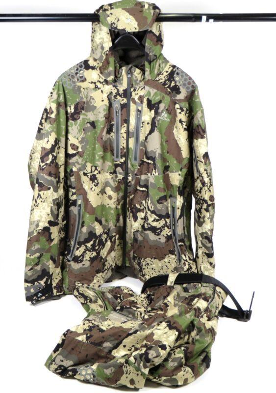 Pnuma Outdoors Selkirk All Weather Hunting Jacket 3XL & Pants 44x32 Set Veil