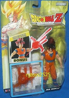 Dragonball Z Gt Ss Goku 6  With Shooting Triple Energy Flash Factory Sealed 2004