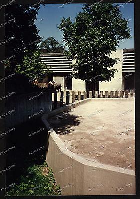 Foto-Stuttgart-Wilhelma-Bad-Cannstatt-Nashorn-Gehege-Architektur-um-1985-17