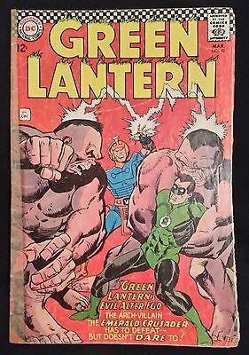 GREEN LANTERN # 51 - DC COMICS - MARCH 1967