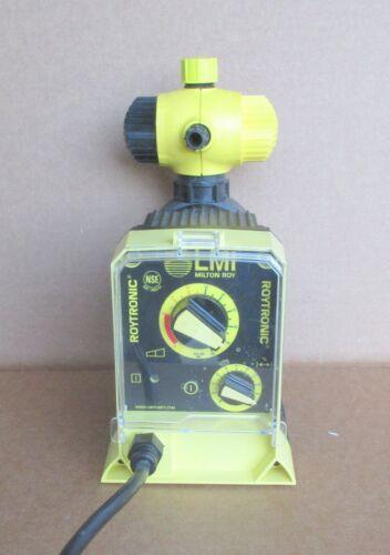 Milton Roy LMI Electronic Metering Pump A111-918SI  .26 GPH  250 PSI