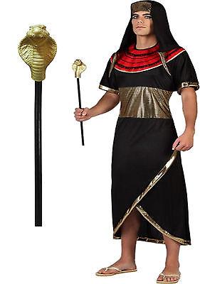 Ägyptisches Zepter Schlange Stab Pharao Cobra Stock Kostümzubehör - Ägyptische Herrscher Kostüm
