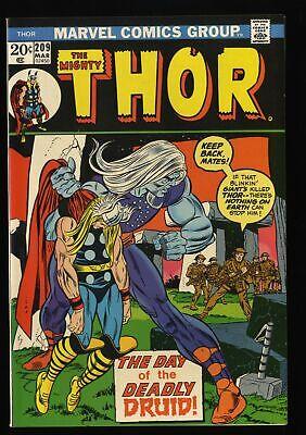 Thor #209 NM+ 9.6 Marvel Comics 1st Ultimus!