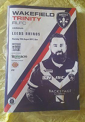 Wakefield Trinity vs. Leeds Rhinos - 10/8/2017
