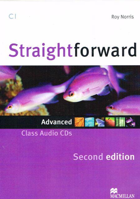 Macmillan STRAIGHTFORWARD Second Ed ADVANCED Class Audio CD's 2013 Level C1@NEW@