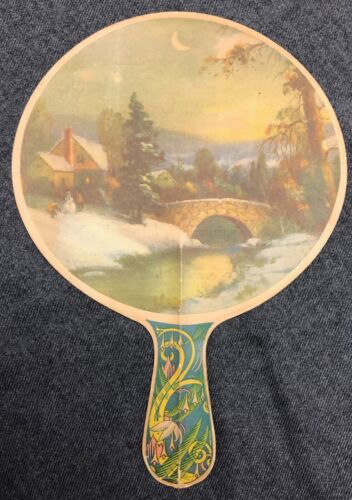 Mullins Coal Co. Advertising Fan 8x11 inches