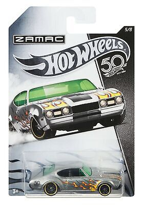 HOT WHEELS® '68 OLDS™ 442™ HW 50th ZAMAC Flames Collection Die-Cast Car Toy