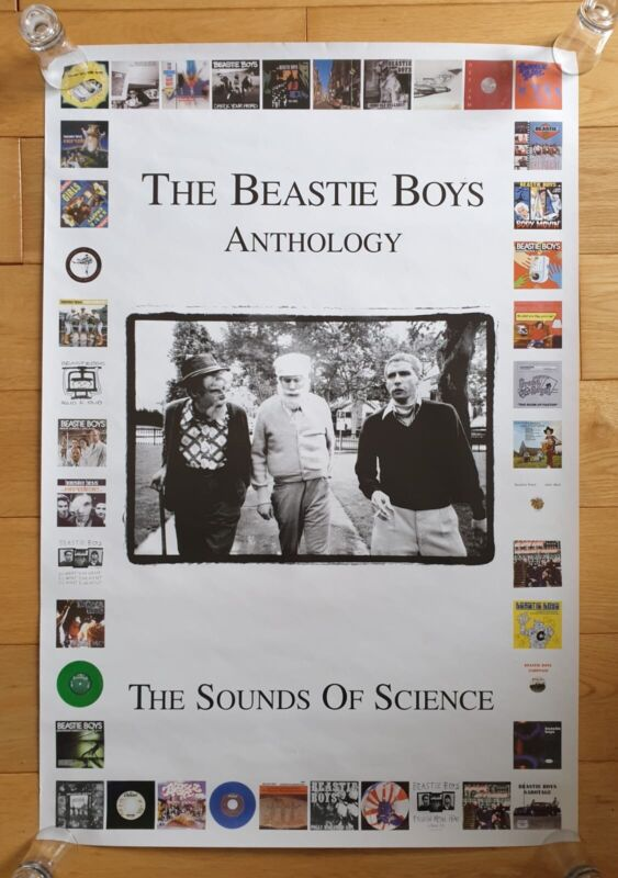 The Beastie Boys The Sounds Of Science Original Record Store Promo Poster Ultra