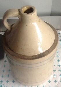 Antique moonshine jug