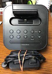 iHome IPL8 FM Radio Alarm Clock Speaker w/ Lightning Dock for iPhone Black