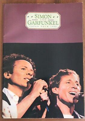 Simon and Garfunkel in Concert JAPAN Tour 1982 Program tour book  Very Rare!!