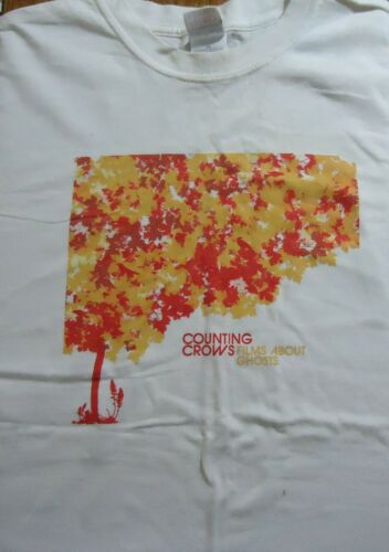 Vintage Counting Crows Films About Ghosts T Shirt (X-Large)