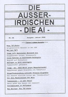 """DIE AUSSERIDISCHEN HEFT 28 - Wer ist """"Q"""" , Kabale & Hollywood - Eva Groenke"""