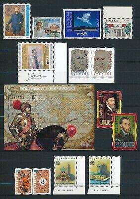 Belgien Sammlung Parallelausgaben ab 1996 postfrisch. 3 Fotos