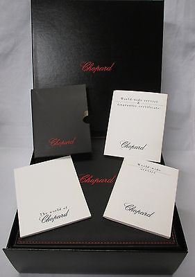 CHOPARD Pen & Key Ring Gift Presentation Display Case Box Papers Set 94200-0279