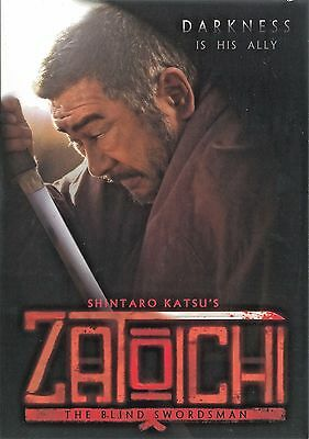 Zatoichi  Darkness Is His Ally   Dvd Rare  Photo Liner Notes Booklet Included