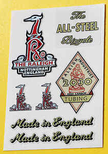 Raleigh-1950s-Vintage-style-Cycle-Bike-Stickers-decals-SPORTS-TOURIST-etc