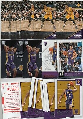 D'ANGELO RUSSELL RC LOT 38 2015-16 SELECT HOOPS FLASH PRIZM COURT KINGS TC - Basketball Hoops Cheap