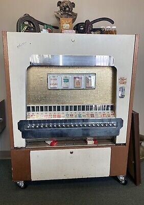 Circa 1940's - 1950's Cigarette Vending Machine